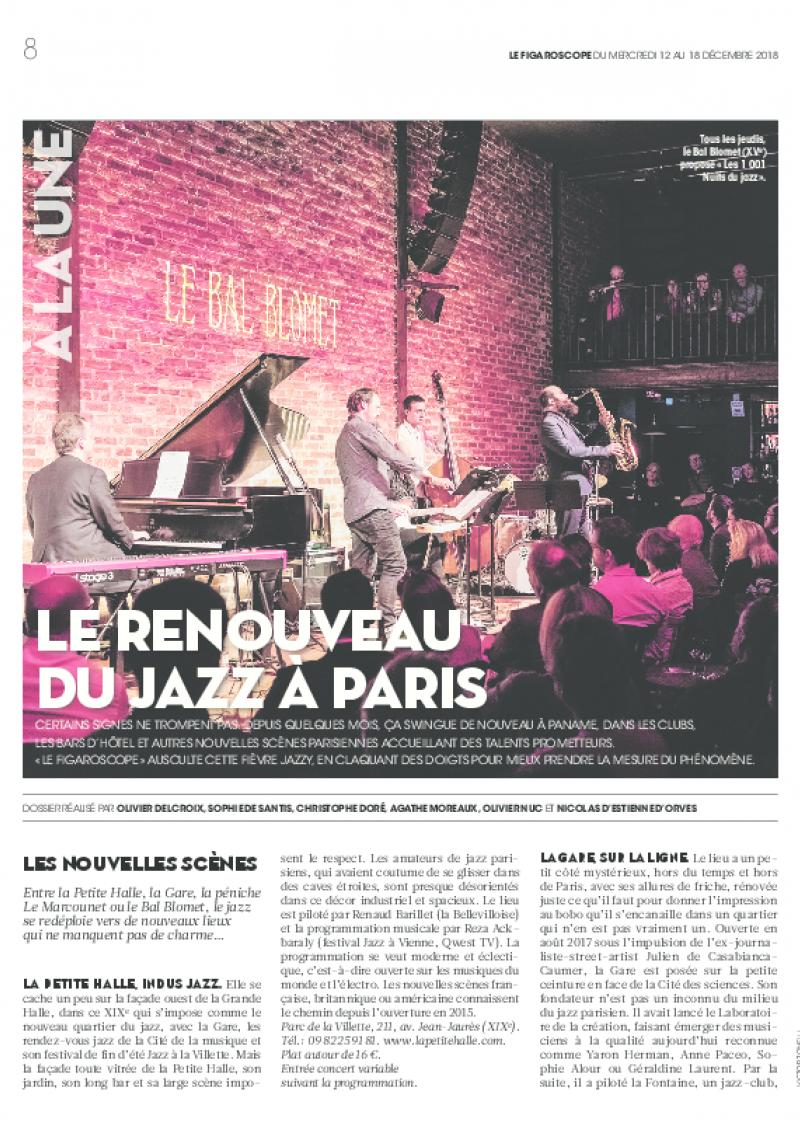Le Figaroscope (12 au 18 décembre 2018)